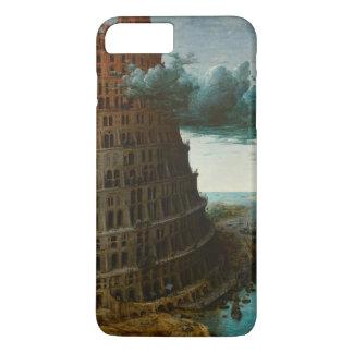 Pieter Bruegel著小さいバベルの塔 iPhone 8 Plus/7 Plusケース