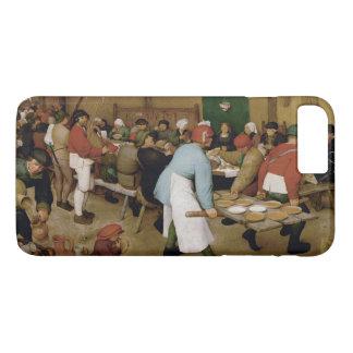 Pieter Bruegel著小作農の結婚式年長者 iPhone 8 Plus/7 Plusケース