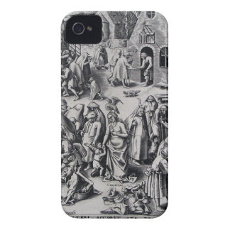 Pieter Bruegel著慈善年長者 Case-Mate iPhone 4 ケース