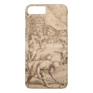 Pieter Bruegel著春年長者 iPhone 8 Plus/7 Plusケース