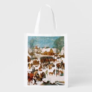 Pieter Bruegel著潔白な人の大虐殺 エコバッグ