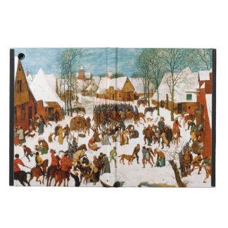 Pieter Bruegel著潔白な人の大虐殺 iPad Airケース