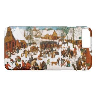 Pieter Bruegel著潔白な人の大虐殺 iPhone 8 Plus/7 Plusケース