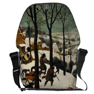 Pieter Bruegel著雪のハンター年長者 クーリエバッグ