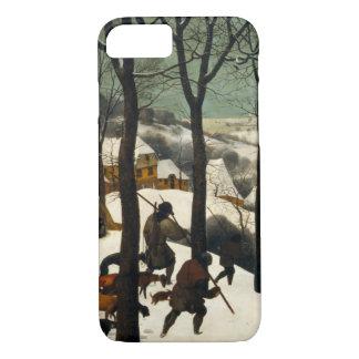 Pieter Bruegel著雪のハンター年長者 iPhone 8/7ケース