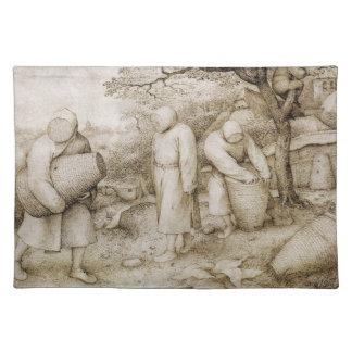 Pieter Bruegel著養蜂家年長者 ランチョンマット