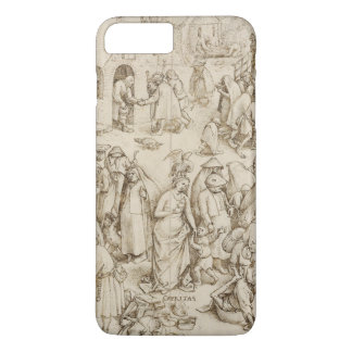 Pieter Bruegel著Caritas (慈善)年長者 iPhone 8 Plus/7 Plusケース
