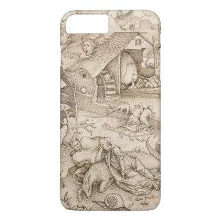 Pieter Bruegel著Desidia (怠惰)年長者 iPhone 8 Plus/7 Plusケース