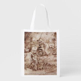 Pieter Bruegel著Zorn (怒り)年長者 エコバッグ