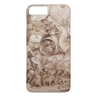 Pieter Bruegel著Zorn (怒り)年長者 iPhone 8 Plus/7 Plusケース