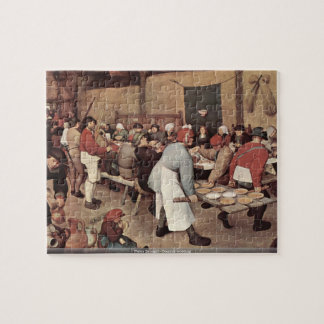 Pieter Bruegel -国の結婚式 ジグソーパズル