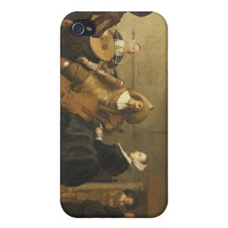 Pieter Symonzの陶工によって集まるミュージカル iPhone 4/4Sケース