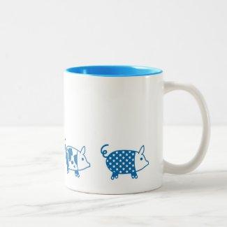 PIG chan ツートーンマグカップ