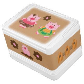 Piggiesのかわいいクーラー Igloo クーラーボックス
