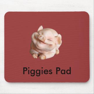 Piggiesのパッドおもしろいなデザイナーマウスパッド マウスパッド