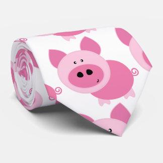 Piggiesのピンクの人 ネクタイ