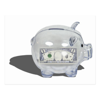 PiggyBankZeroSavings102410 ポストカード