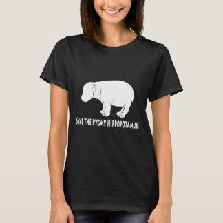 Pigmyのカバを救って下さい Tシャツ