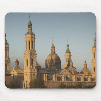 Pilar Basilica de Nuestra Senora de Ebro川 マウスパッド