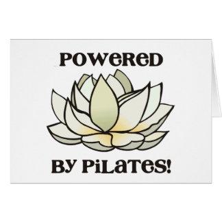 Pilatesのはすによって動力を与えられる カード