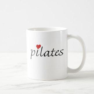 Pilatesのマグ コーヒーマグカップ