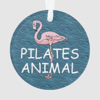 Pilates上の動物 オーナメント