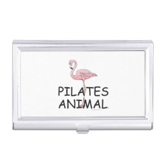 Pilates上の動物 名刺入れ