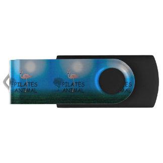Pilates上の動物 USBフラッシュドライブ