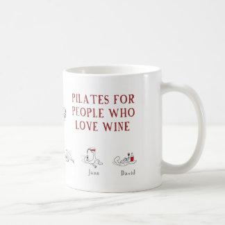 pilates コーヒーマグカップ