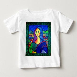 Pilieroモナ・リザ ベビーTシャツ