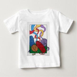 Piliero著ウールのギフト ベビーTシャツ