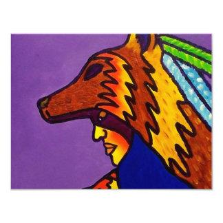 Piliero著オオカミ3の精神 カード