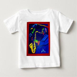 Piliero著ジャズ人のように ベビーTシャツ