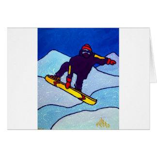 Piliero著スノーボード カード