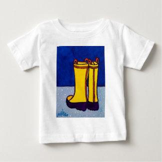 Piliero著ブーツ ベビーTシャツ