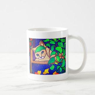 Piliero著不精な猫 コーヒーマグカップ