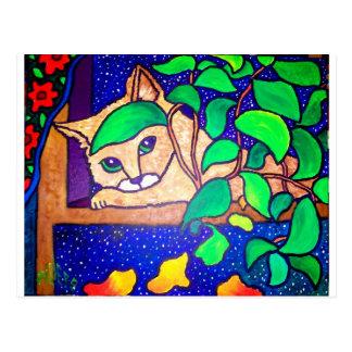 Piliero著不精な猫 ポストカード