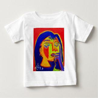 Piliero著抽出される女性 ベビーTシャツ