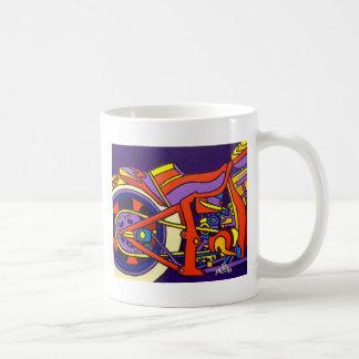 Piliero著機械 コーヒーマグカップ