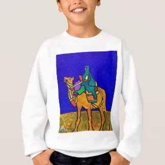 Piliero著砂漠の船 スウェットシャツ