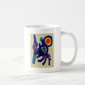 Piliero著跳躍犬 コーヒーマグカップ