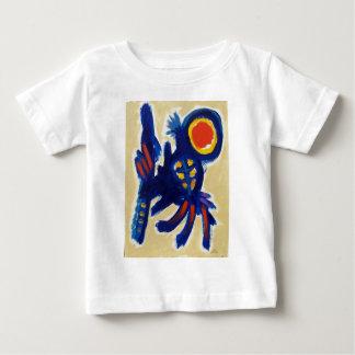 Piliero著跳躍犬 ベビーTシャツ