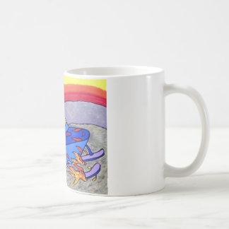 Piliero著01スノーモービル色 コーヒーマグカップ