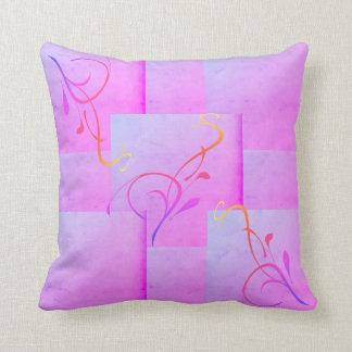 Pillow- , designed in purple クッション