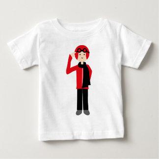 PilotRed6 ベビーTシャツ