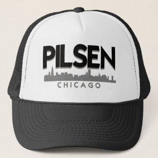 Pilsenシカゴの近隣の帽子 キャップ