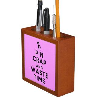 Pinのがらくたおよび無駄の時間 ペンスタンド