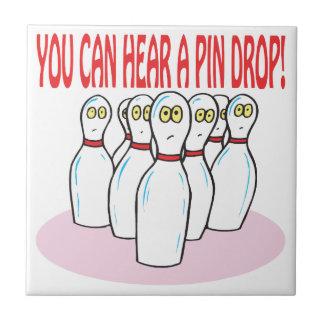 Pinの低下を聞くことができます タイル