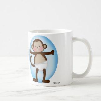 Pin猿のマグのBinky コーヒーマグカップ