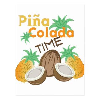 Pina Coladaの時間 ポストカード